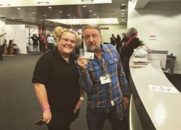 Peter Hook at the London Bass Guitar Show